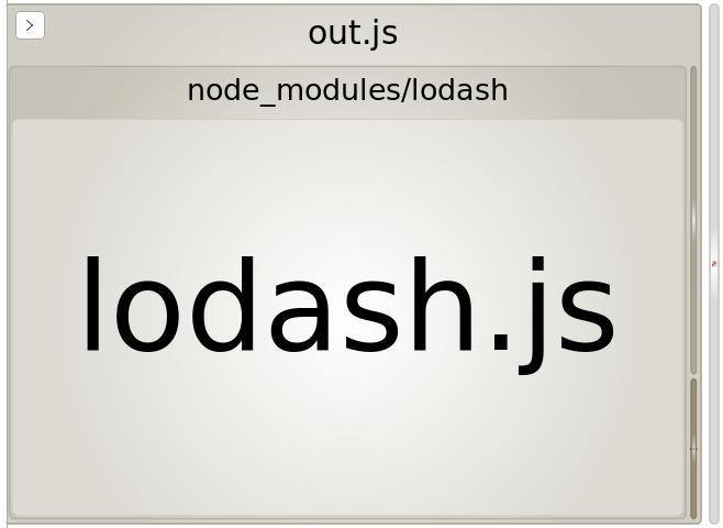 webpack bundle analyzer for all of lodash